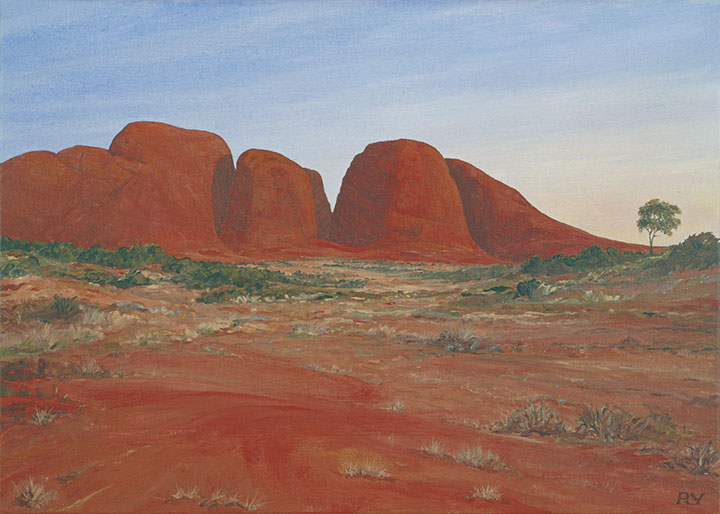 Kata Tjuta (The Olgas), near Ayers Rock, Australia
