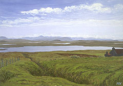 Loch Achmore, North Harris, Hebriden Inseln
