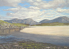 Uig Sands, Baile-na-Cille, Isle of Lewis, Hebriden Inseln