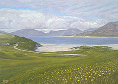 North Harris von Horgabost, Isle of Harris, Hebriden Inseln